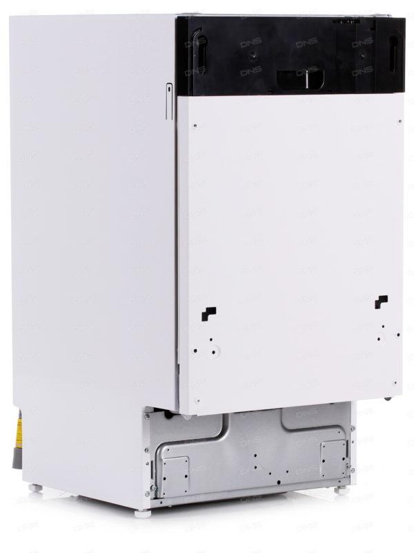 Узкая посудомоечная машина полностраиваемого типа Gorenje GV50211 имеет глубину 54 сантиметра