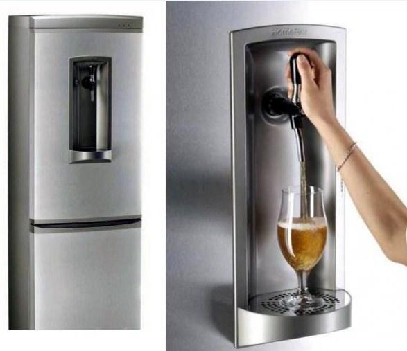 Линия Special двухкамерных холодильников Ардо с функцией подачи охлажденных напитков на фасаде