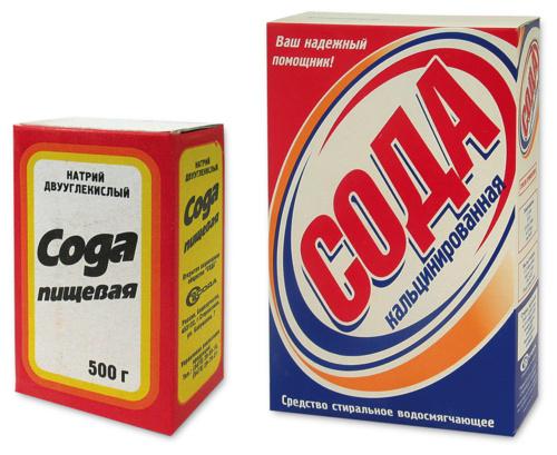 Карбонат натрия или пищевая сода может входить в состав таблетки для посудомоечной машины
