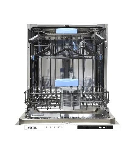 Обзор посудомоечной машины VDWBI 6021 от компании Вестел с двумя уровнями лотков в бункере