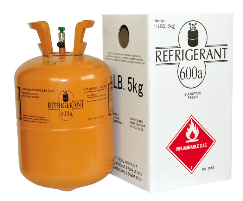 Во всех холодильниках компании Канди хладагентом выступает безопасный газ — фреон марки R600a