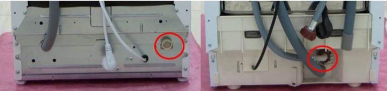 Места присоединения сливного шланга в посудомоечных машинах разных моделей и производителей