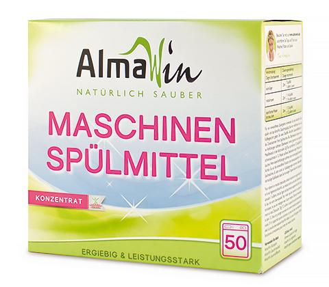 Универсальное безопасное моющее средство для посуды и самой посудомоечной машины Almawin Био