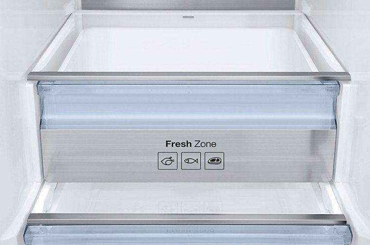 В холодильниках компании Самсунг тщательно проработаны камеры свежести в холодильной части модели
