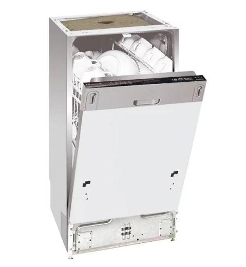 Полновстраиваемая узкая модель посудомоечной машины Kaiser S 45 I 84 XL с наличием режима турбосушки