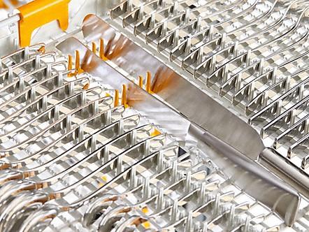 Особенности строения поддона 3D+ обеспечивает более глубокое мытье и вымываемость