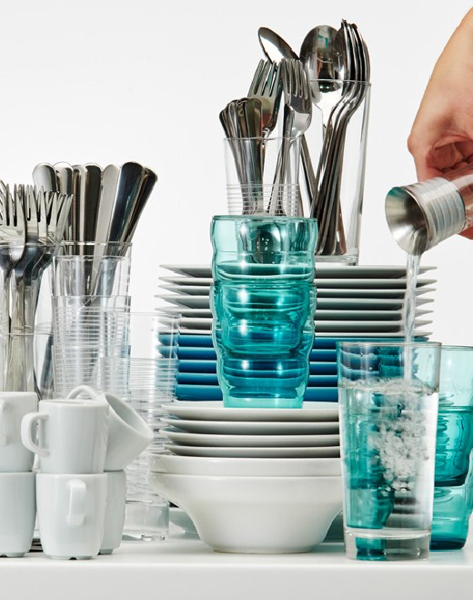 Посудомоечные машины Икея гарантируют экономию водных ресурсов