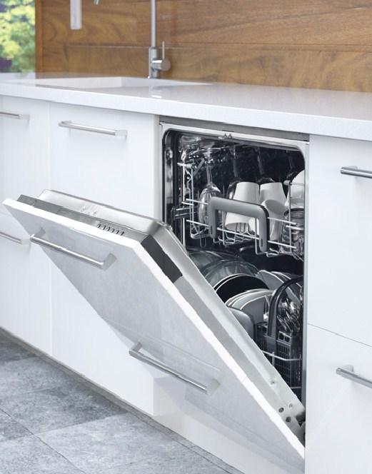 Большинство моделей посудомоечных машин Икея полноценно встраиваемые