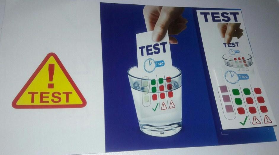 Использование тест-полоски поможет узнать жесткость воды