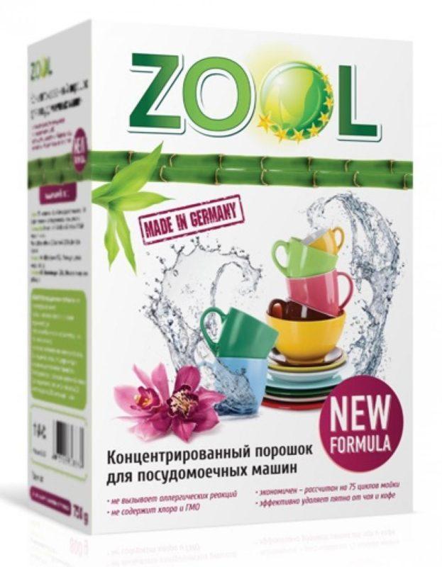 Гиппоаллергенное средство Zool немецкого производства с энзимами и без хлора в своем составе