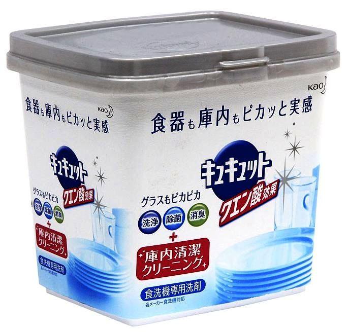Японский порошок KAO Citric Acid Effect для эффективного удаления загрязнений, но не подходит для хрупких изделий