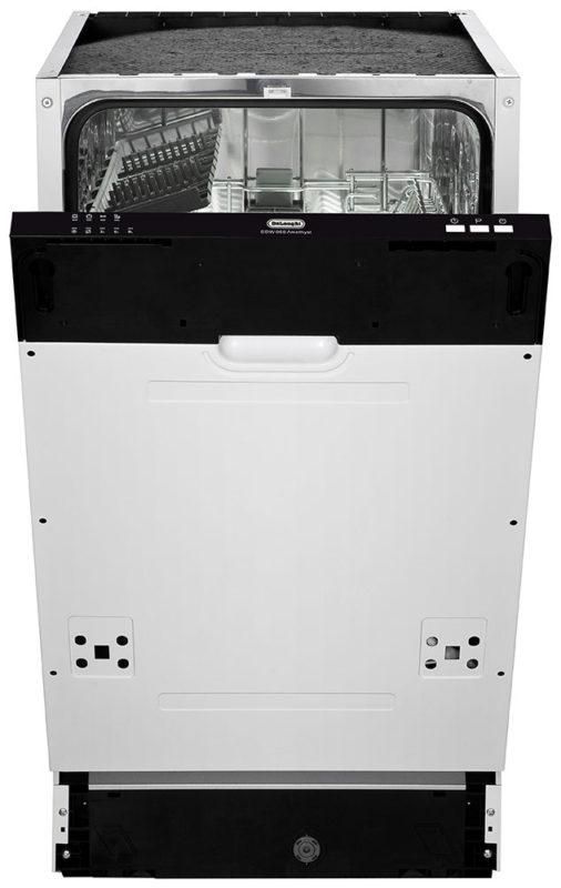 Глубина полновстраиваемой посудомоечной машины De'Longhi DDW06S Amethyst составляет 54 сантиметра