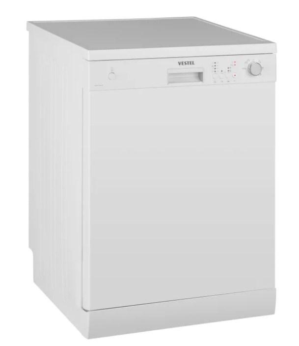 Модель полноразмерной отдельностоящей посудомоечной машина VDWTC 6031 W от компании Вестел