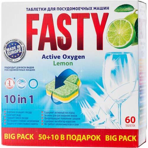 Польские таблетки Фасти рекомендуется ложить прямо в корзину в посудой