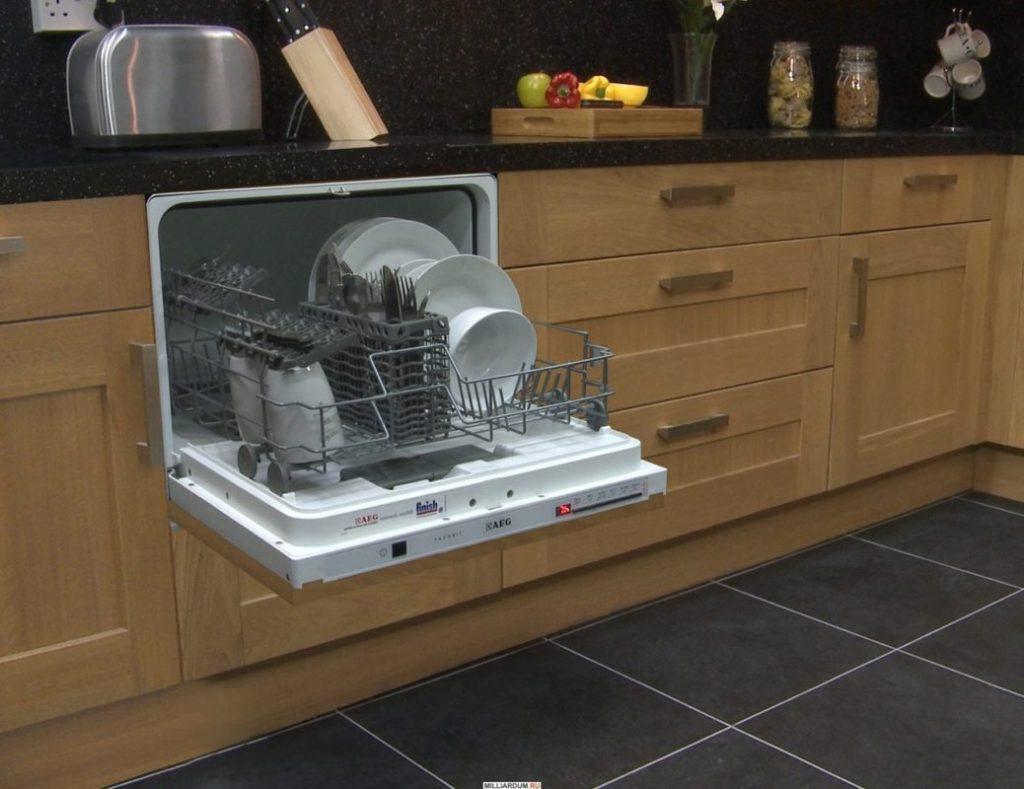 Встраиваемая мини-машина для маленькой кухни