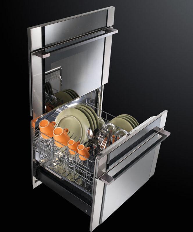Компактные модели ПММ в среднем рассчитаны на 6 комплектов посуды