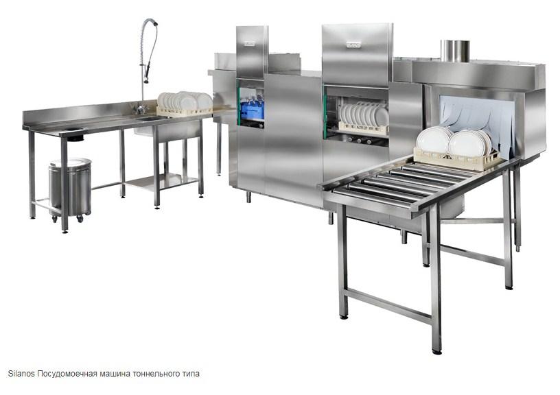 Кухонная техника Силанос легко компонуется в блоки