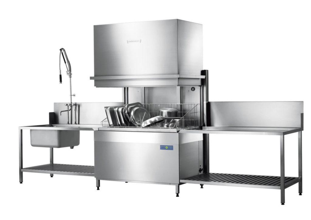 Котломоечная ПММ Profi UXTH способна вместить много объемной посуды