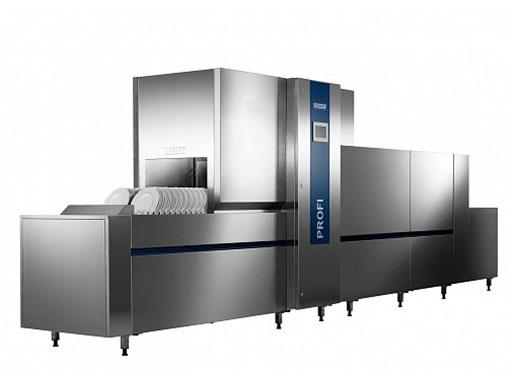 Мощная и профессиональная машина, способная вымывать от 2380 до 7370 тарелок в час