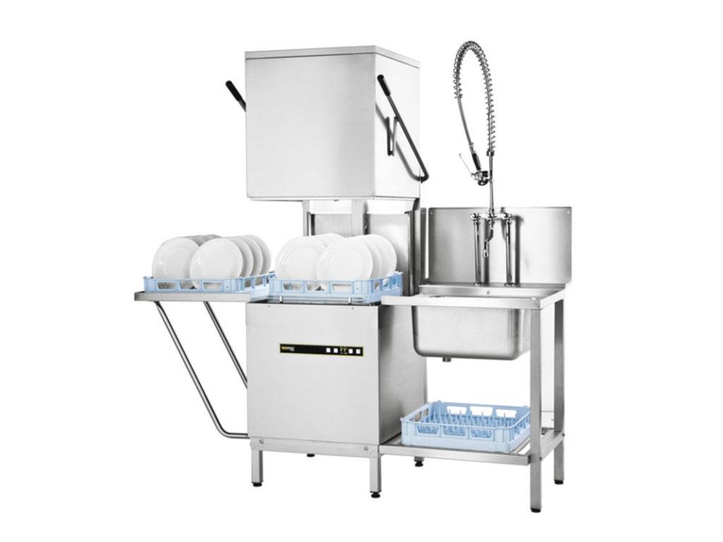 Купольная модель ECOMAX 602 представляет собой целый моющий комплекс