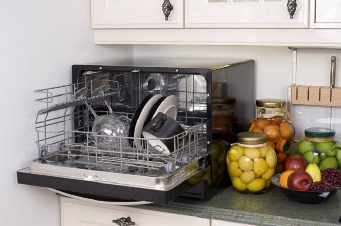 Существуют и нестандартные варианты мини-посудомоек