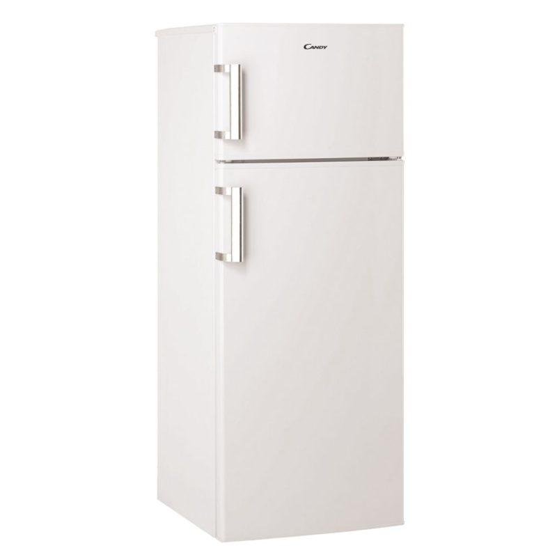 Общий обзор закрытого двухкамерного холодильника с верхней морозилкой Канди CCDS 5140 WH7