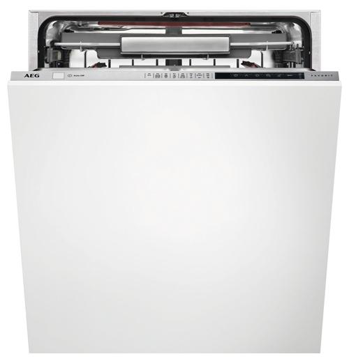 Доступная посудомоечная машина AEG FSR 83800 P с панелью задач и дисплеем на торце дверцы