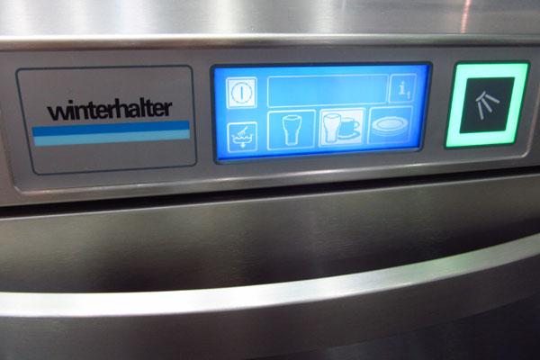 Сенсорный дисплей посудомойки Winterhalter