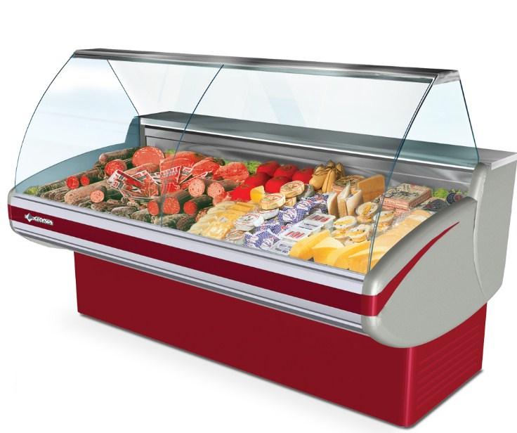 Внешний вид морозильной витрины
