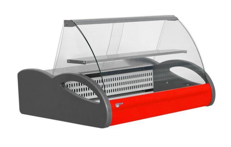 Настольная модель морозильной витрины