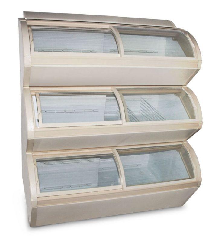 Многоярусная морозильная витрина