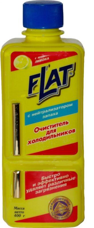 Flat - чистящее средство на основе лимона