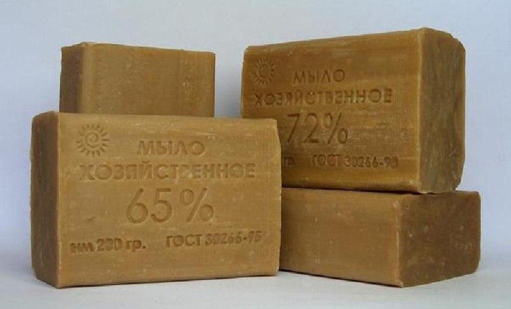 Хозяйственное мыло может стать частью моющего средства