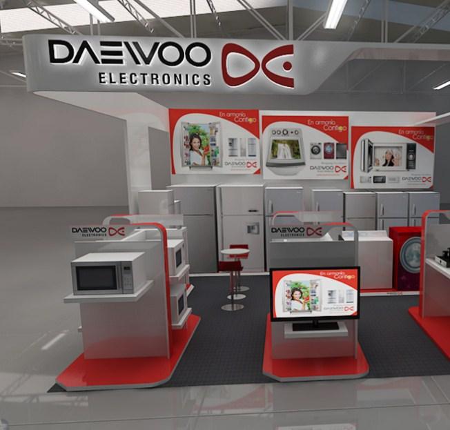 Выставочная площадка Дэу Электроникс