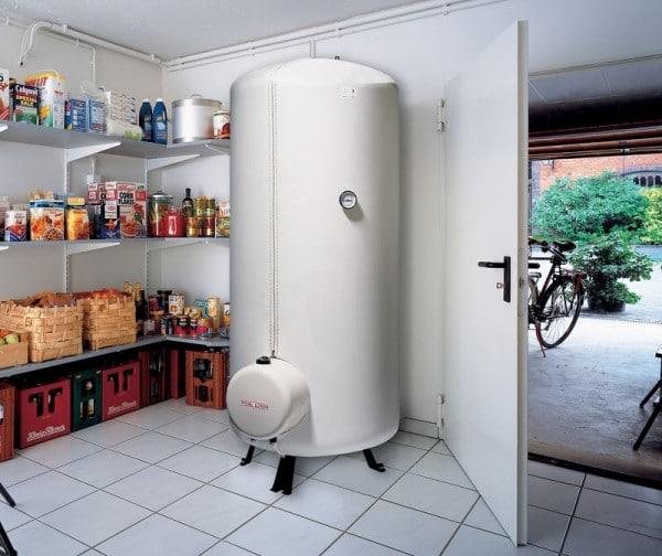 Напольный многолитражный водонагреватель