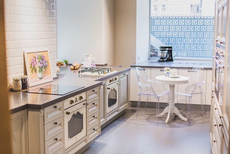 Rococo в дизайне кухни