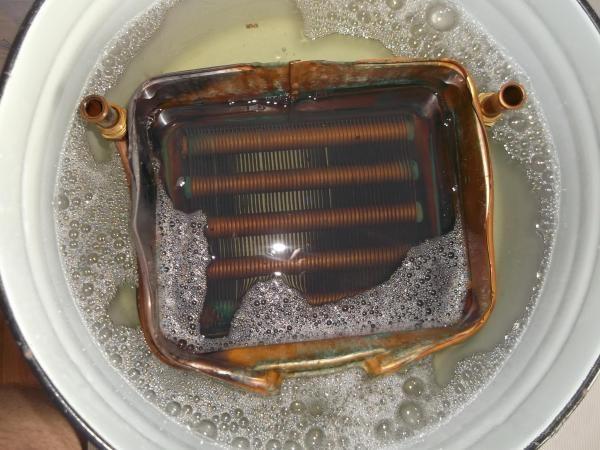 Нагар в теплообменнике как снять вторичный теплообменник с газового котла навьен