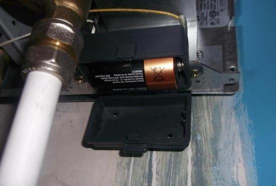 Батарейный блок системы розжига