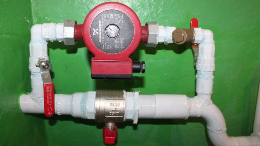Перед наладкой - отключите подачу воды