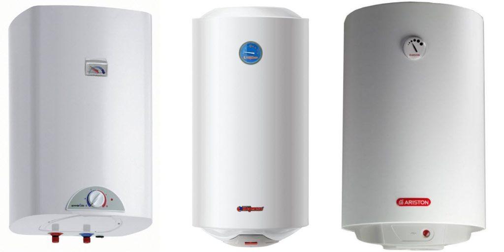 Типичные модели электрических водонагревателей