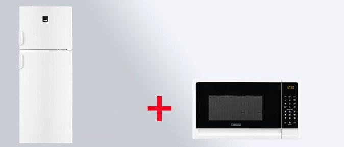 Комбинации установки холодильника с микроволновкой