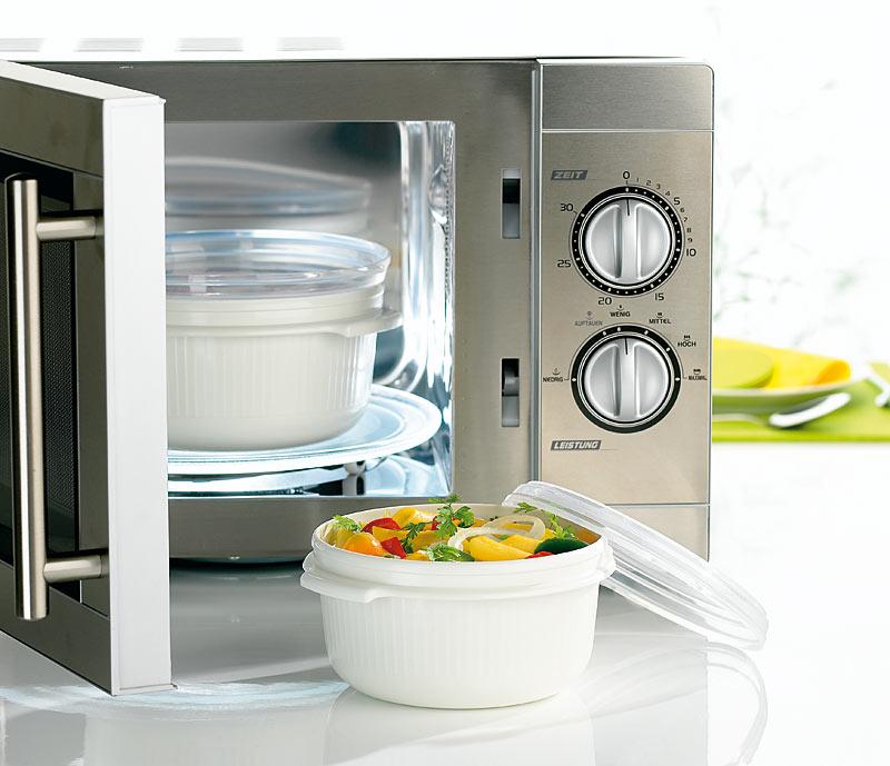 Проверяйте посуду перед использованием в СВЧ