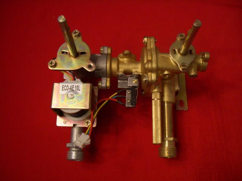 Газовый и водный узлы газовой колонки