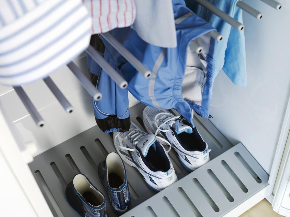 Расположение полок в сушильном шкафу