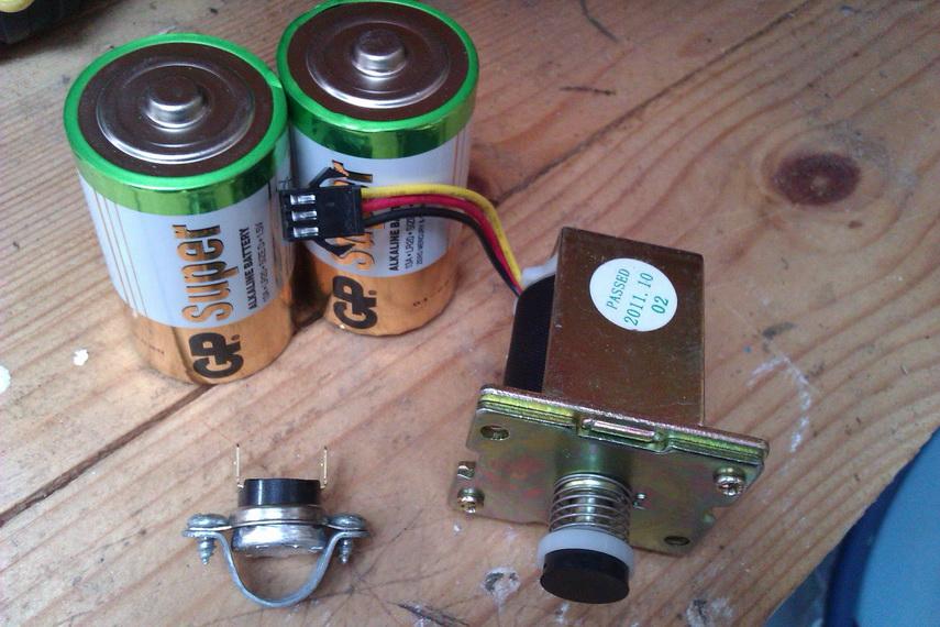 Батарейки и система розжига