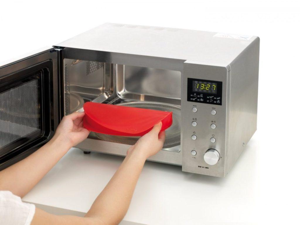 Силиконовая посуда приемлема для СВЧ печи