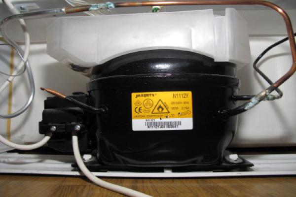 Внешний вид компрессора холодильника