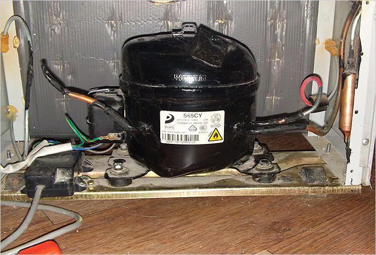 Типичные подключения компрессора