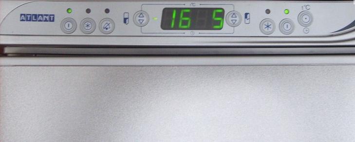ошибки холодильника атлант как устранить