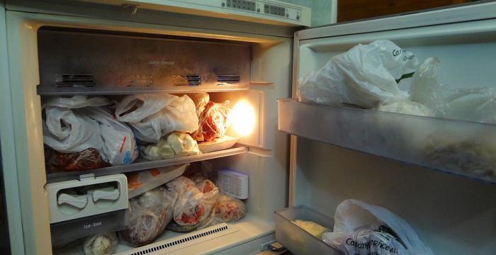 Перегруженность холодильника